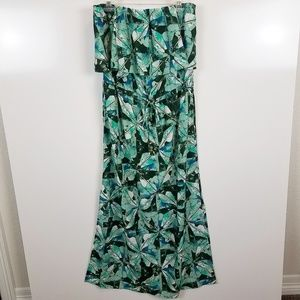 Sz LG Mossimo Strapless Maxi Dress with Tie Waist